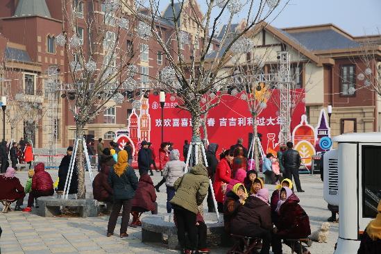 青岛新闻网2月6日讯 2月5日,青岛西海岸新区中德生态园2017迎新春文化